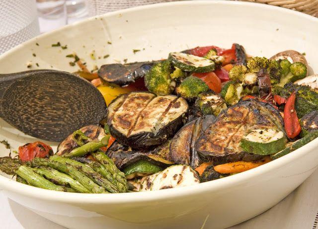 COOKBOOK: Verduras marinadas cocinadas a la parrilla