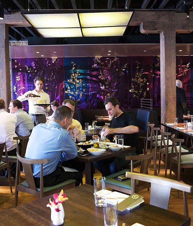 Australian Gourmet Traveller restaurant for Sydney's Sake Japanese restaurant on Argyle Street, The Rocks.