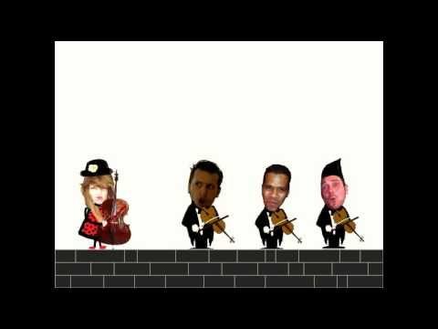 musicograma canon de pachelbel