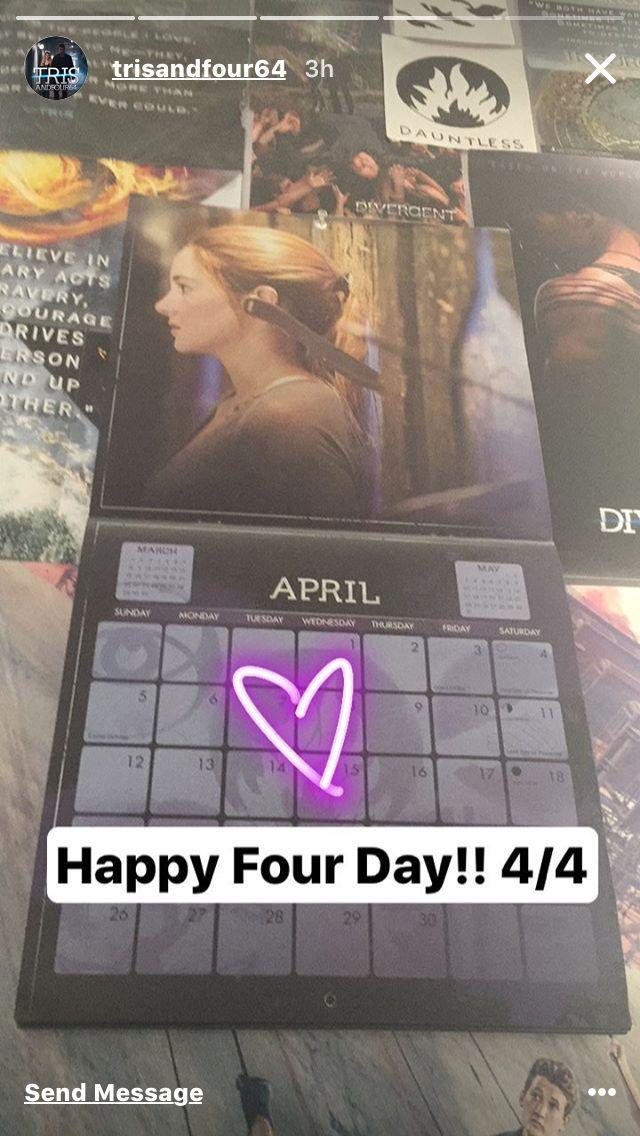 Happy Four Day Fandom! 4/4/17