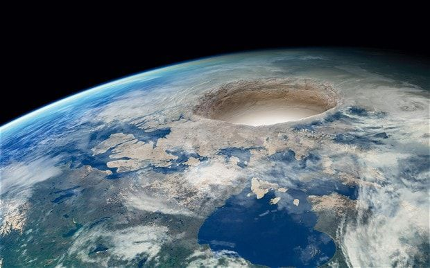 Journey to the centre of the Earth: believers are convinced the Hollow Earth is…