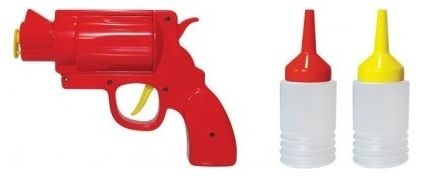 """""""Shoot"""" your condiments..fun for adults and kids..eclectic kitchen tools by Bouf"""