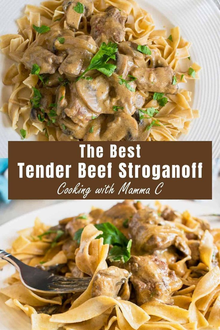 Looking For A Tender Beef Stroganoff Recipe This Is It And It S Got The Best Flavor From Beef Recipe For Beef Stroganoff Beef Stroganoff Stroganoff Recipe