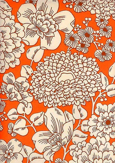 vintage wallpaper. Does anyone know where I can still buy wallpaper like this? Is it made of cancer or something, like most cool old architectural features?