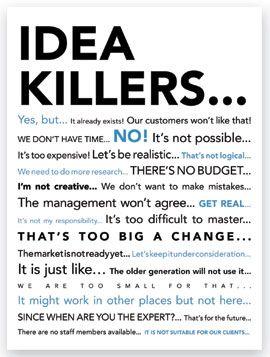 Deze poster heb ik opgehangen in de koffieruimte van een ex-werkgever, toen mijn baas mijn socialmediaplannen voor de organisatie aan de kant schoof..