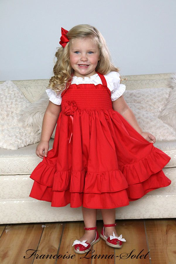 A Personal Favorite From My Etsy Shop Https://www.etsy.com. Shirred DressRuffled  DressesFlower Girl DressesSlip DressesFlower GirlsValentines ...