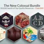 The New Colossal Bundle with $10,063 worth of Top-Quality Resources – From $49   Facegfx's news