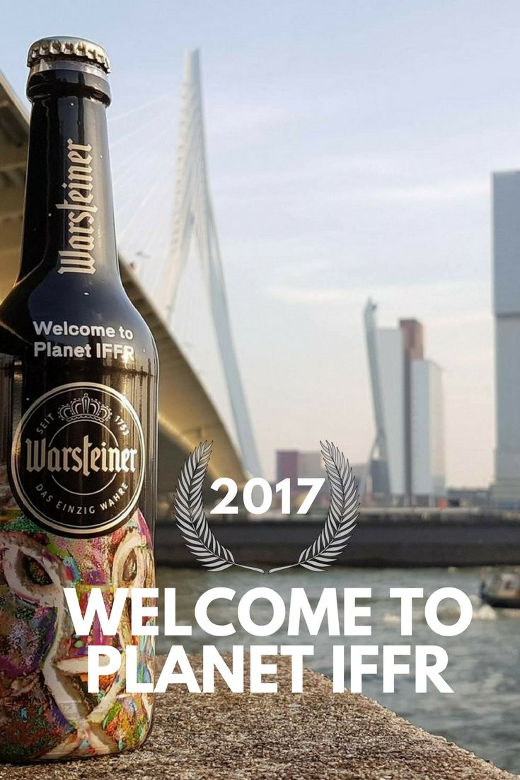 More info: http://seenin010.nl/blog/welcome-to-planet-iffr/  International Film Festival Rotterdam #Rotterdam @iffrotterdam #IFFR @rdamfestivals #Erasmusbrug #Warsteiner @Warsteiner Erasmusbridge #Beer #Bier #Festival #Film #movie