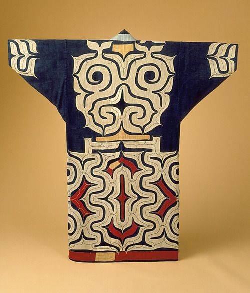 Robe. Ainu. The Los Angeles County Museum of Art