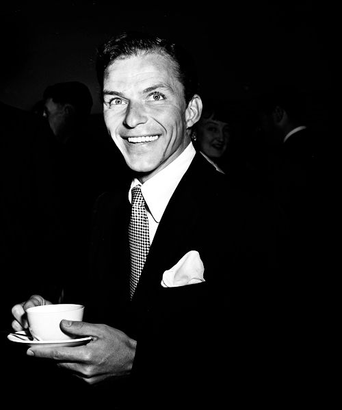 Coffee, I did it Frank's way  Frank Sinatra