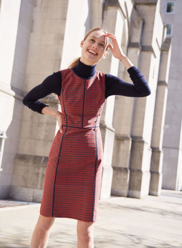 Turtleneck Under Dress For Work Fall Winter In 2019