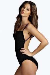 Boohoo Backless Bodysuit - £10 - Size 8