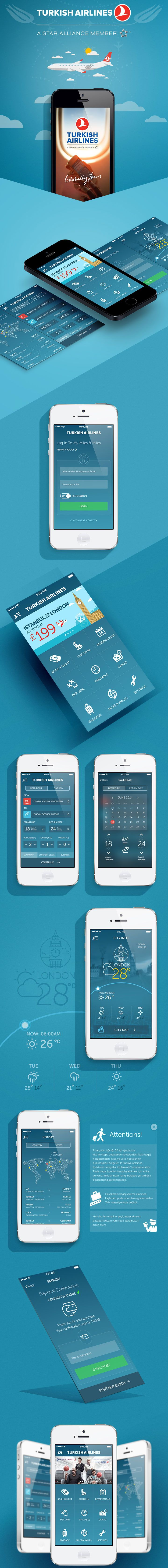 Turkish Airlines App Redesign