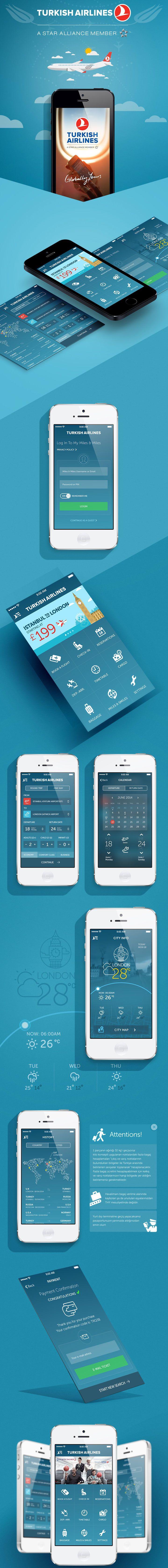 Turkish Airlines App Redesign