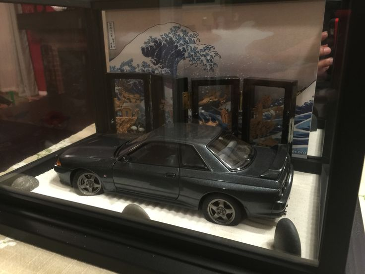 Skyline GTR R32 Japanese diorama