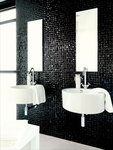 Porcelanosa Usa Velas Negro Ceramic Wall Tile Interiors Inside Ideas Interiors design about Everything [magnanprojects.com]