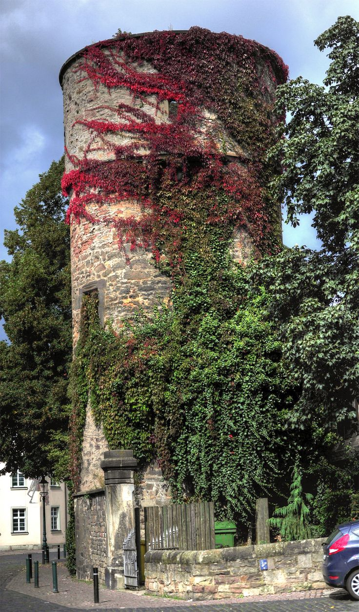 Hexenturm am Kanalstrasse - Fulda, DE / Witches Tower on Kanalstrasse (Canal Street) - Fulda, Germany / taken by GerhardEric.com