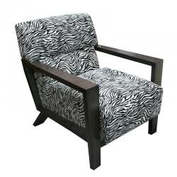 Perri Occasional Chair - ZebraThe Block Shop - Channel 9