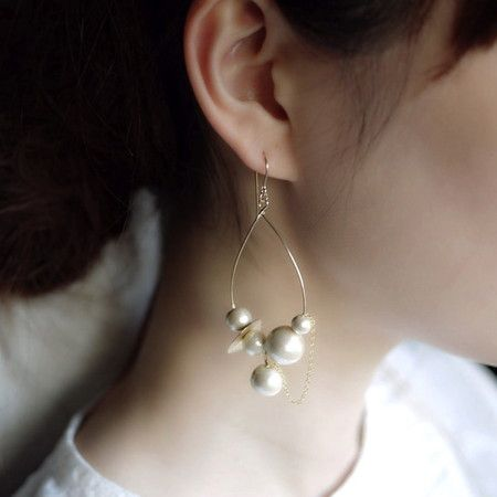 noue earrings