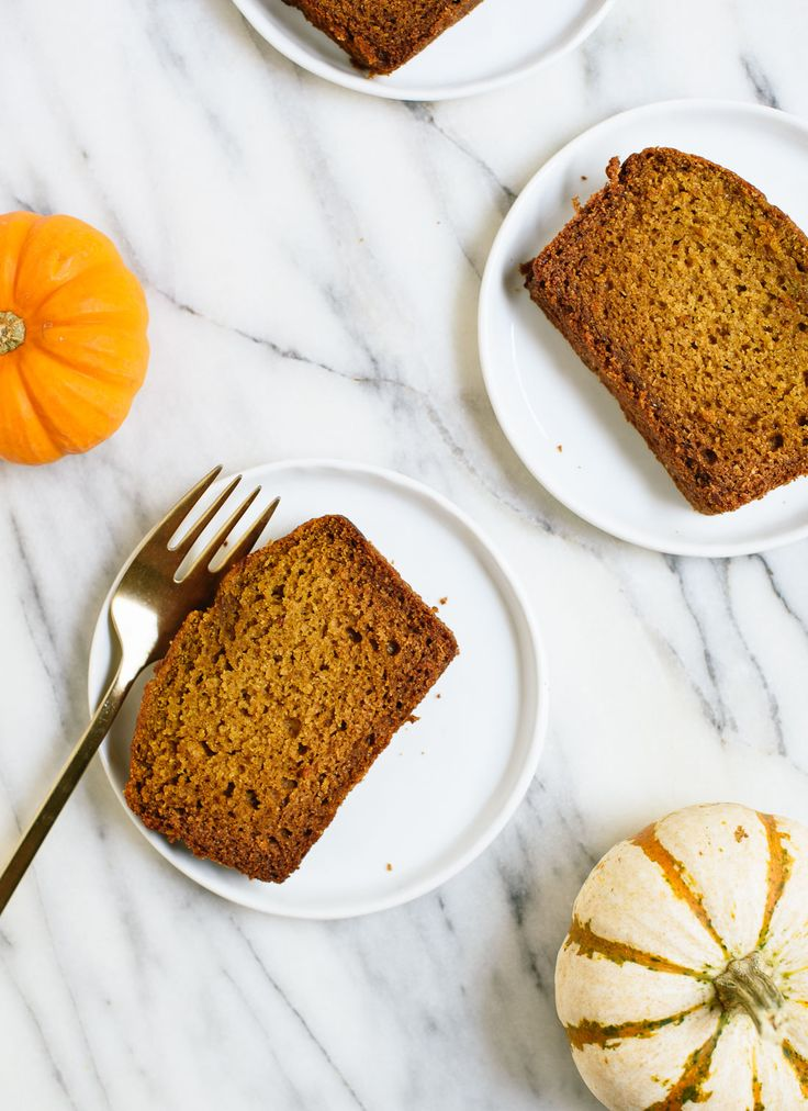 Healthy Pumpkin Bread! (