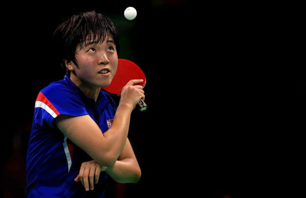 These Hyperfocused Olympic Table Tennis Players Will Make You Feel Alone AF -   .