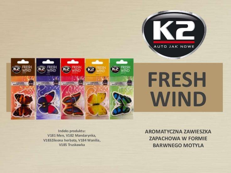 Świeży wiosenny zapach w aucie przez cały rok? Poznaj K2 Fresh Wind!  http://www.slideshare.net/k2compl/v181-v182-v183-v184-v185-k2-fresh-wind-samochodowy-odswiezacz-powietrza