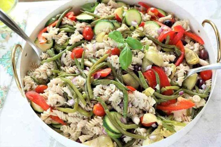 15 Healthy, Delicious & Easy Pasta Salad Recipes For Your Lunches – Food And Easy Recipes