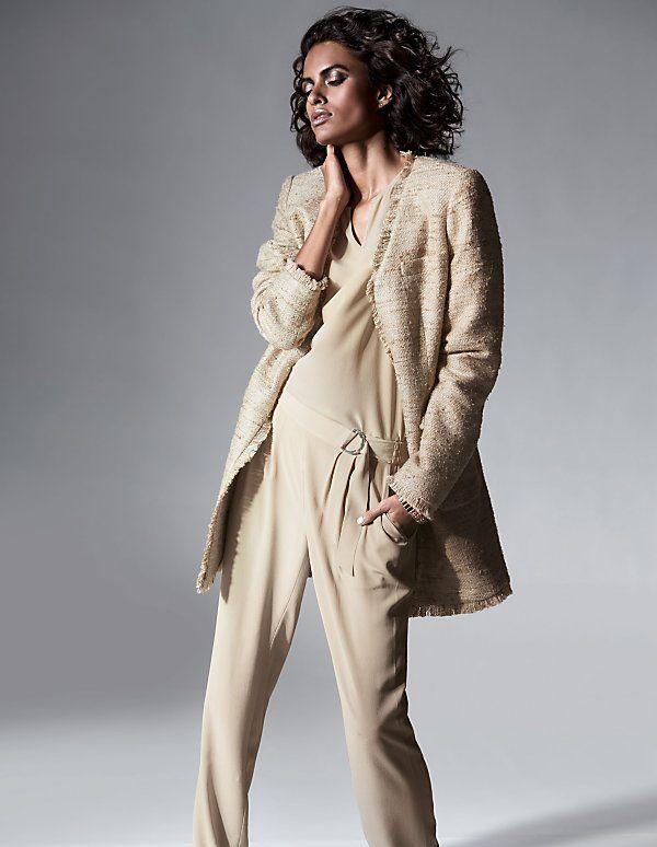 Longblazer of Wild Seide  MADELEINE fashion