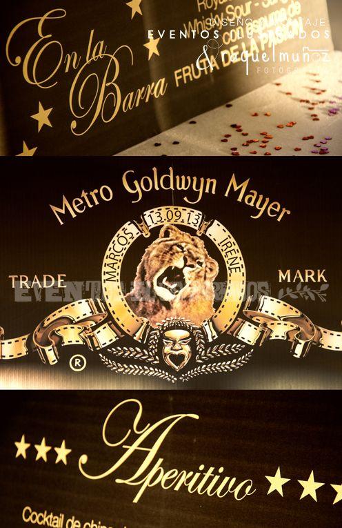 #decoracion #bodacine #bodapeliculera #personalizacion
