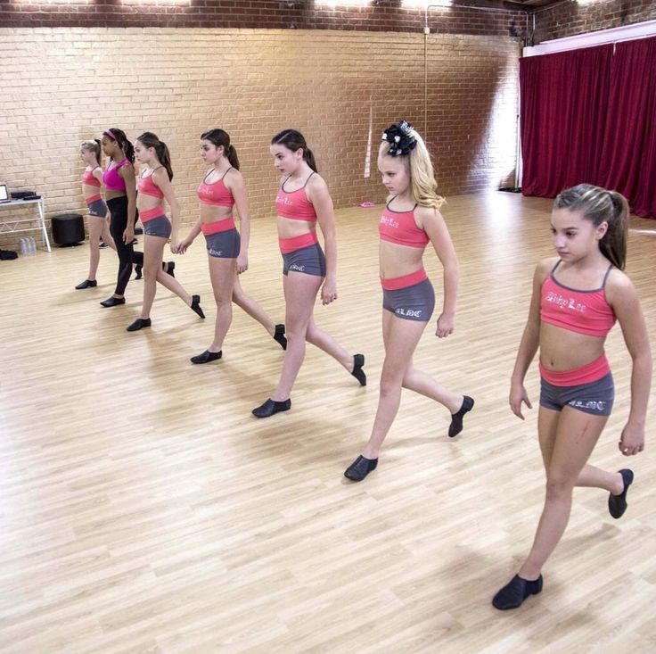 Dance Moms Season 6 rehearsal for the group dance - The Seven Deadly Sins.