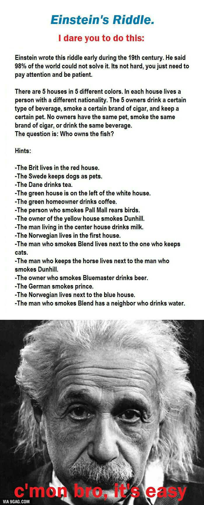 The types of riddles