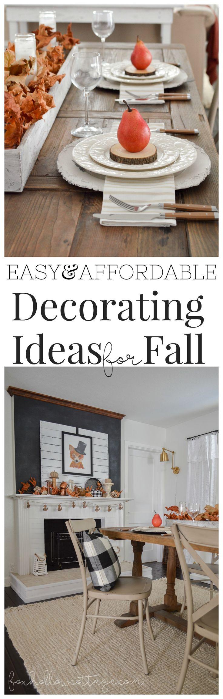 579 best Fall \u0026 Autumn: Diy crafts, decor and recipe ideas images ...