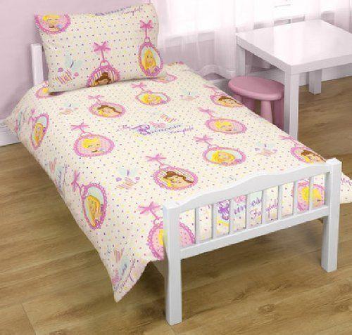 Disney  PRINCESS LOCKET DOTS JUNIOR TODDLER COT BED DUVET SET QUILT COVER BEDDING NEW DISNEY PRINCESS LOCKET BED SET (Barcode EAN = 4653171967977). http://www.comparestoreprices.co.uk//disney-princess-locket-dots-junior-toddler-cot-bed-duvet-set-quilt-cover-bedding.asp