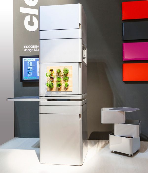 The Island Kitchen Offers You Everything You Need In A Compact And Smart Design