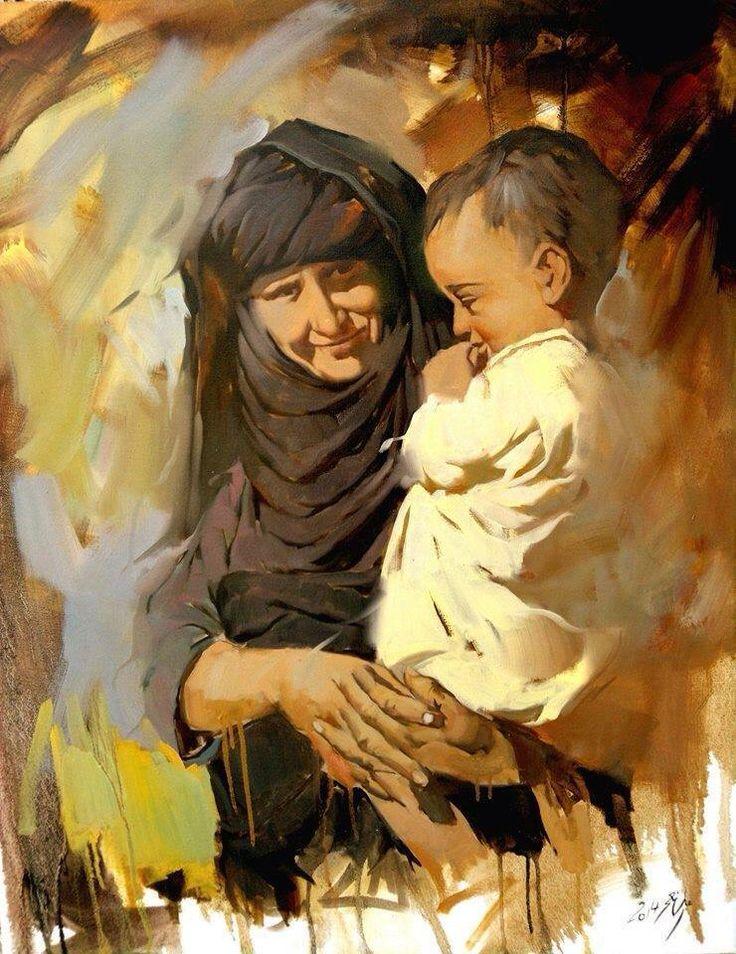 Ali neama iraq iraq pinterest for Egyptian mural paintings