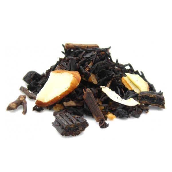 Vanilla Treat from our Indulge range. This artisan blend of black teas is combined with freshly cut Madagascar vanilla bean to create a smooth tea that is perfect with a splash of milk. Try hot or cold with a spoonful of honey. Naturally caffeine free. NOTE: Contains Nuts  www.toaiteanz.co.nz