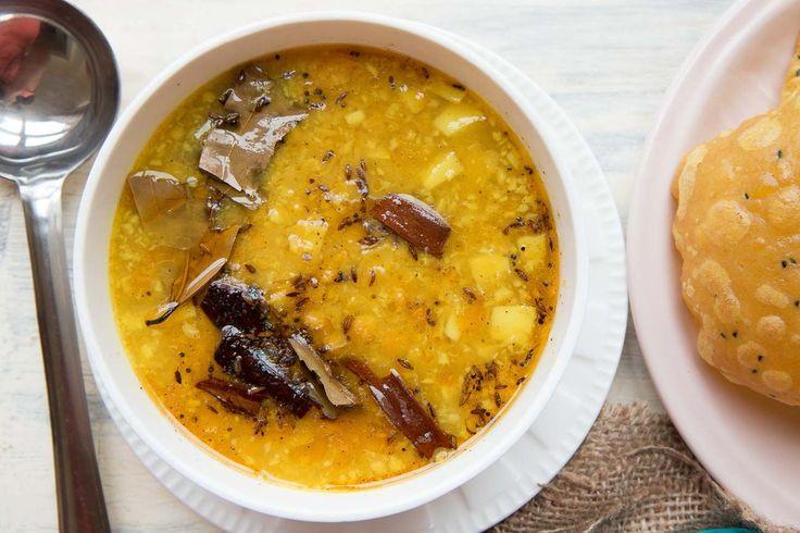 बगल सटइल छलर दल - Bengali Style Cholar Dal (Recipe In Hindi)