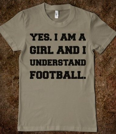 With football training camps starting this week, a shirt for the female fan!  Go @Buffalo Bills