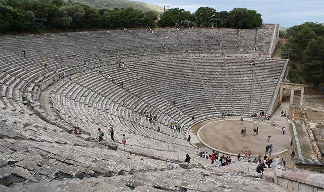 Theaters - 10 Unknown Facts About Ancient Greece