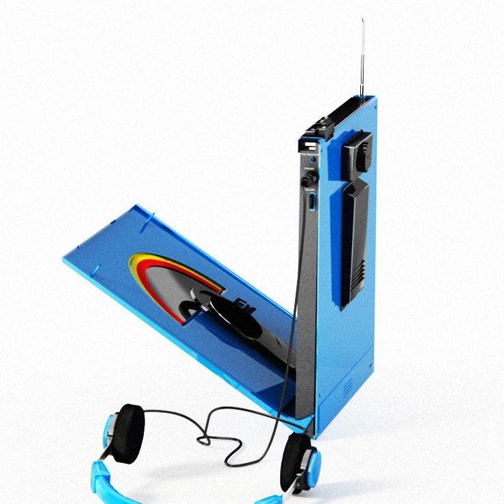 Rawman 3000 Portable Vinyl Players First Portable
