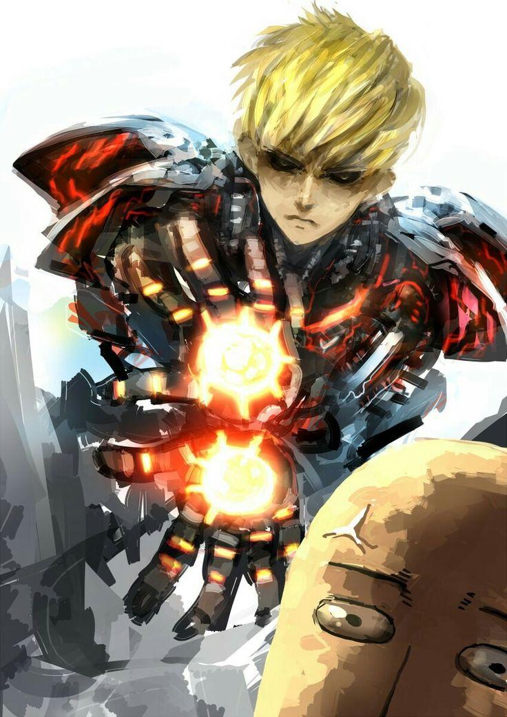 #Genos_the_Cyborg #Saitama_One_Punch | One punch man anime ...