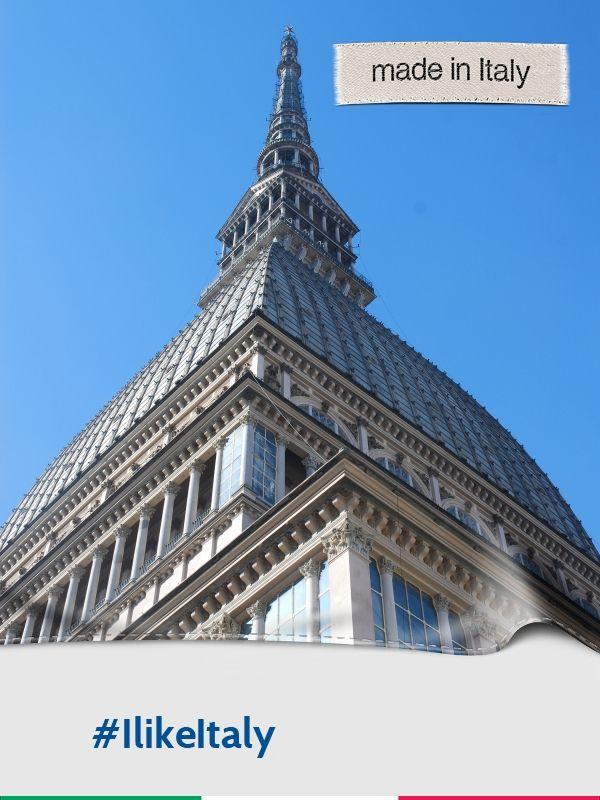 Piemonte, Torino, Mole Antonelliana Campagna Enit - Made in Italy #Piemonte #Torino #Mole #IlikeItaly #visitpiemonte #turismotorino #piemonteturismo #wonderfullexpo2015