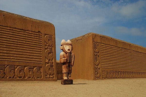 Chan Chan Citadel - La Libertad Peru