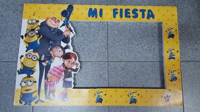 Photocall o marco para fiestas personalizado #sevilla tienda disfraces baratos online www.martinfloressl.es