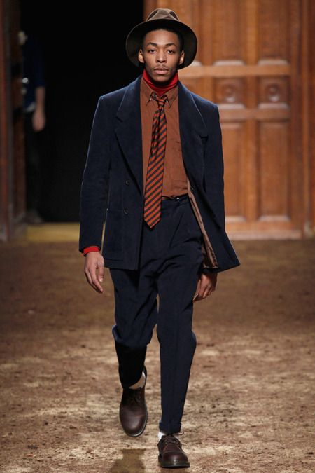 Turkish designer Umit Benan Fall 2014 Menswear