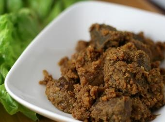 Beef Rendang Recipe Rich Flavorful And Very Unique Not Really Curry Like But Just As Rich With Flavor
