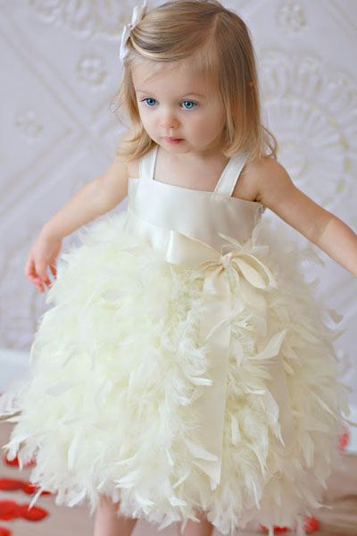 The Most Adorable Flower Girls Dresses