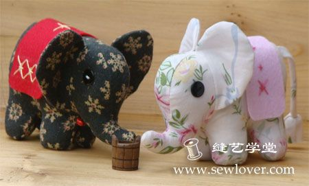 Cloth baby elephant making tutorial