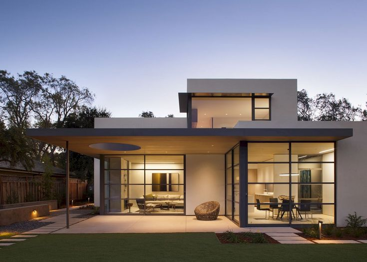 Palo Alto Lantern House: Modern Living to Eclectic Styles with Open Plan of Public Spaces