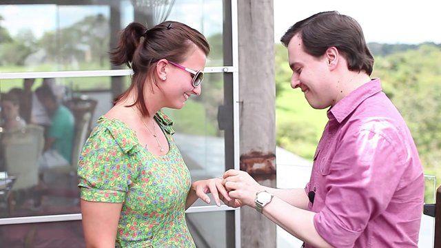 O pedido de casamento surpresa organizado por Fernando